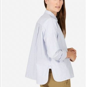EVERLANE The Japanese Oxford Square Shirt Size 6